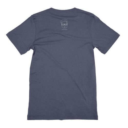 I Identify As Tired Navy T-shirt by Hannah Gadsby